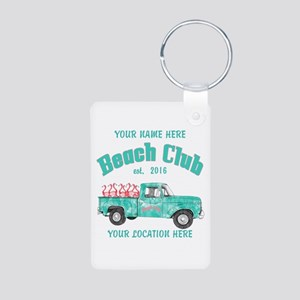 Flamingo Beach Club Keychains