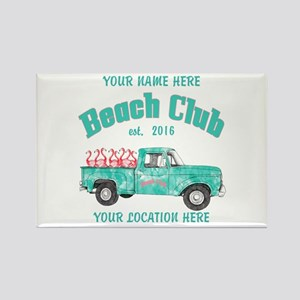 Flamingo Beach Club Magnets