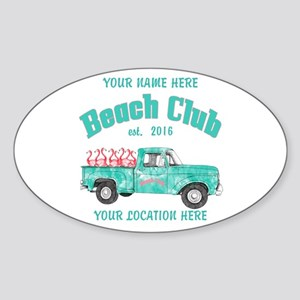 Flamingo Beach Club Sticker
