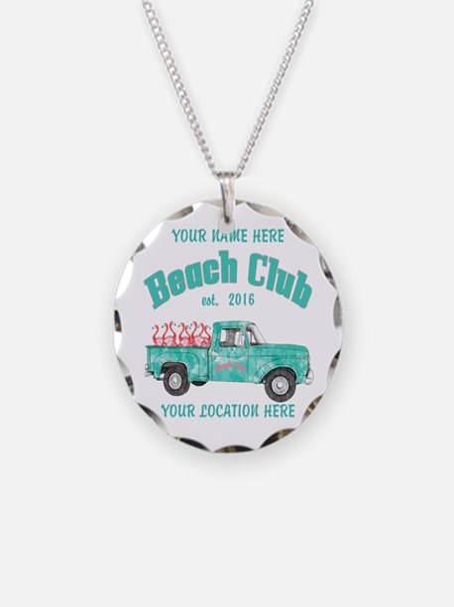 Flamingo Beach Club Necklace