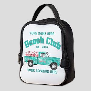 Flamingo Beach Club Neoprene Lunch Bag