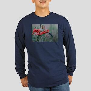 Hummingbird Long Sleeve Dark T-Shirt