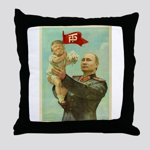 babytrump Throw Pillow