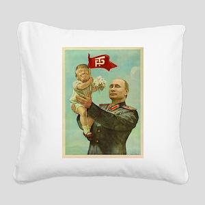 babytrump Square Canvas Pillow