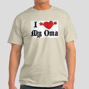 I Love My Oma Light T-Shirt