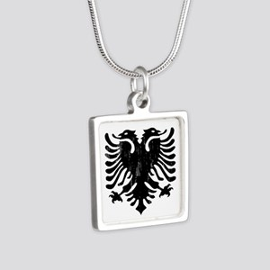 albania_eagle_distressed Necklaces