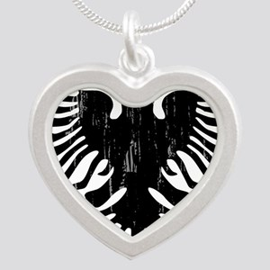 albania_eagle_distressed Necklaces