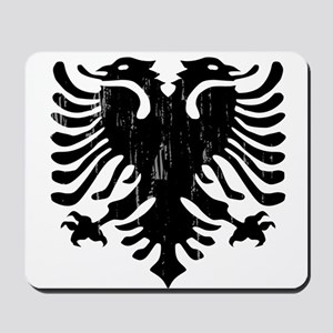 albania_eagle_distressed Mousepad
