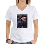 Smith's Back of the North Wind Women's V-Neck T-Sh