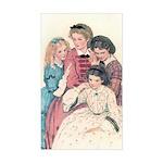 Smith's Little Women Rectangle Sticker
