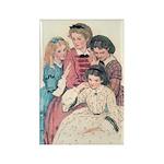 Smith's Little Women Rectangle Magnet (10 pack)