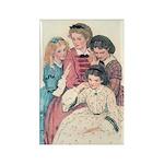 Smith's Little Women Rectangle Magnet