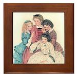 Smith's Little Women Framed Tile