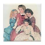 Smith's Little Women Tile Coaster