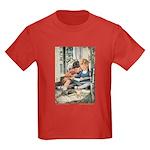 Smith's Way to Wonderland Kids Dark T-Shirt