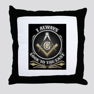 Look To The East Throw Pillow