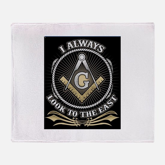 Look To The East Throw Blanket