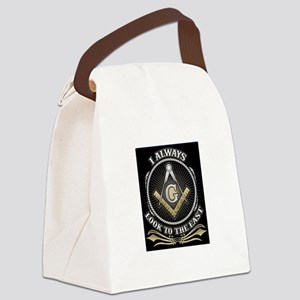 Look To The East Canvas Lunch Bag