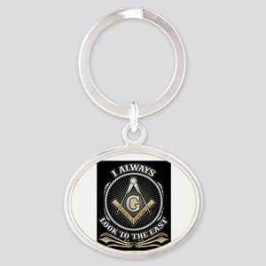 Look To The East Keychains