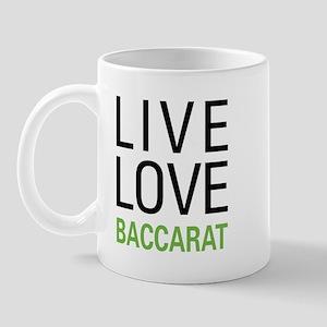 Live Love Baccarat Mug