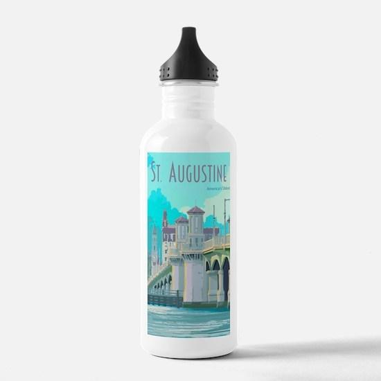 Cute Fl Water Bottle