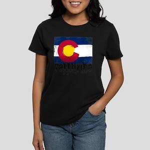 Telluride Grunge Flag T-Shirt