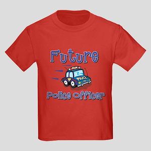 Future Policeman Kids Dark T-Shirt