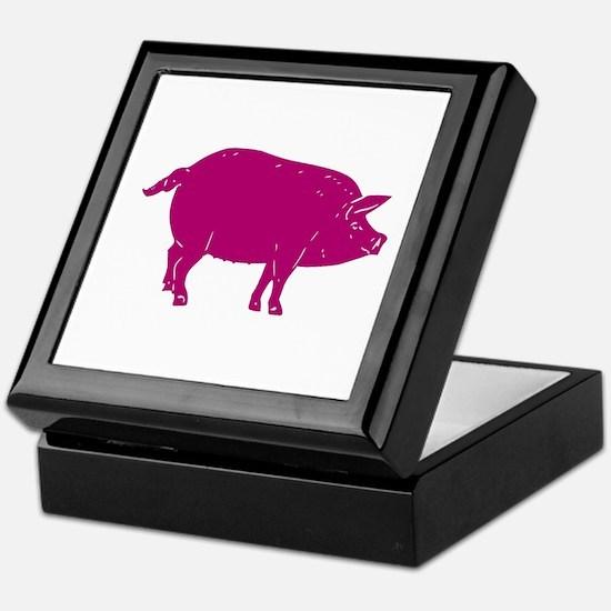 PIG Keepsake Box