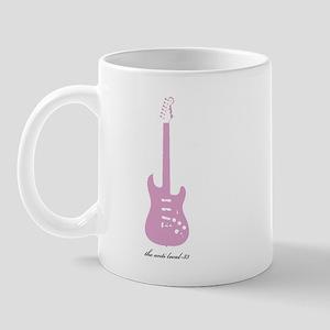 Anti Pink Guitar Mug