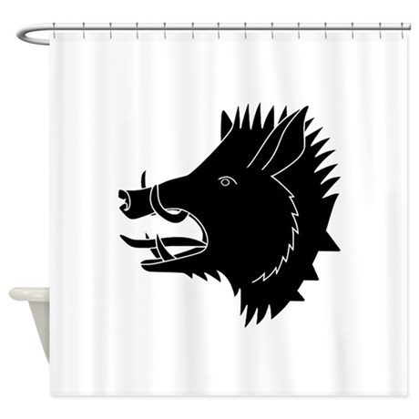 Beau ROAR Shower Curtain