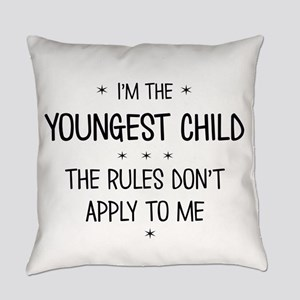 YOUNGEST CHILD 3 Everyday Pillow