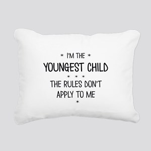 YOUNGEST CHILD 3 Rectangular Canvas Pillow