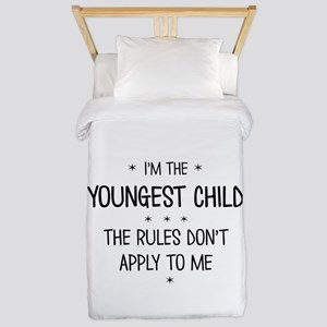 YOUNGEST CHILD 3 Twin Duvet