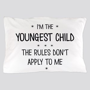 YOUNGEST CHILD 3 Pillow Case