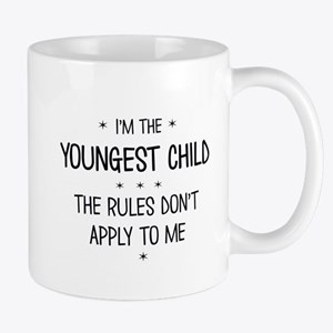 YOUNGEST CHILD 3 Mugs