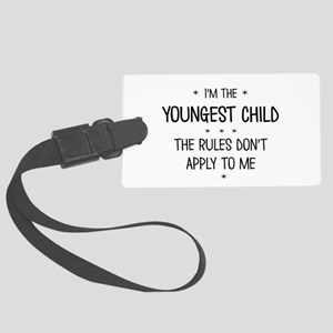 YOUNGEST CHILD 3 Luggage Tag