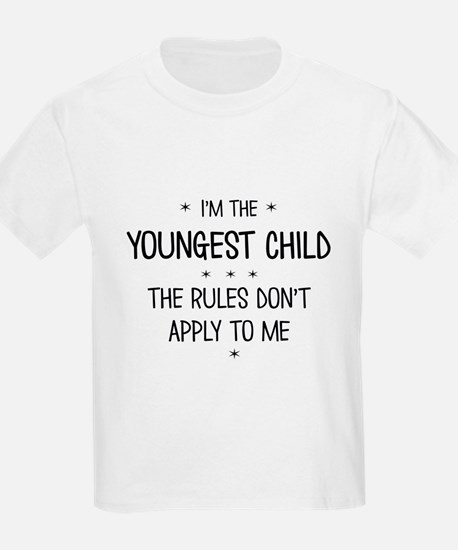 YOUNGEST CHILD 3 T-Shirt
