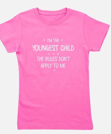 YOUNGEST CHILD 3 Girl's Tee