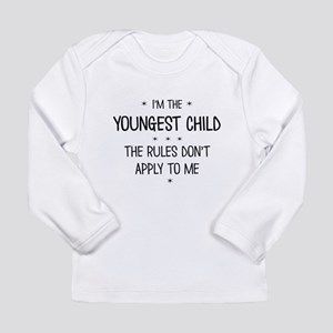 YOUNGEST CHILD 3 Long Sleeve T-Shirt