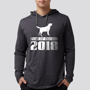 Labrador Year Of The Dog 2018 Long Sleeve T-Shirt