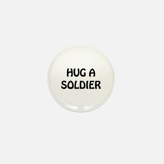 Hug a Soldier Mini Button (10 pack)
