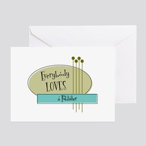 Everybody Loves a Publisher Greeting Cards (Pk of