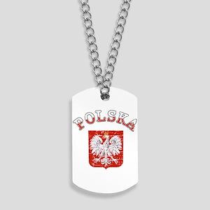 polska flag Dog Tags