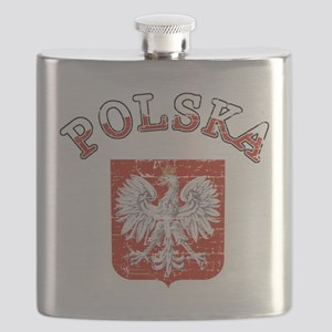 polska flag Flask