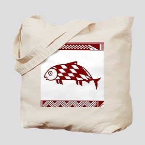 MIBRES FISH RED Tote Bag