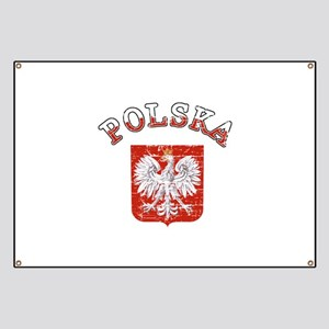 polska flag Banner