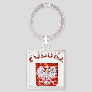 polska flag Keychains