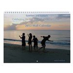 12 Sunrises/Sunsets- 2013 Wall Calendar