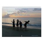 12 Sunrises/Sunsets- 2013 Wall Calendar