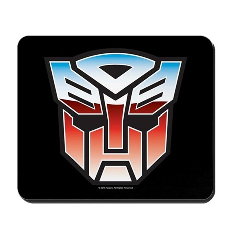 transformers autobot symbol mousepad by transformers4